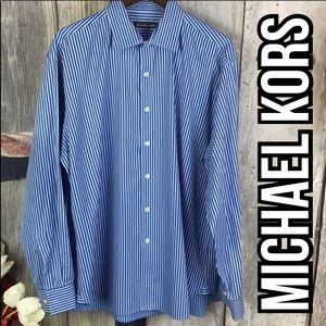 Michael Kors Men Shirt Sz 17 1/2 (34-35)